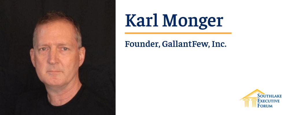 SEF Speaker - Karl Monger